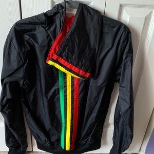Vintage Adidas rasta jacket